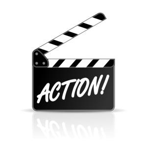 action-filmklappe